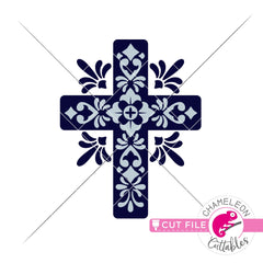Mediterranean Style Cross svg png dxf eps jpeg SVG DXF PNG Cutting File