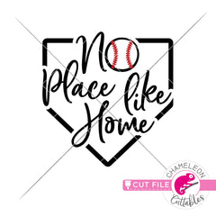 No place like home svg png dxf eps jpeg SVG DXF PNG Cutting File