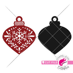 Ornament template 1 svg png dxf eps jpeg SVG DXF PNG Cutting File
