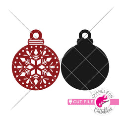 Ornament template 2 svg png dxf eps jpeg SVG DXF PNG Cutting File