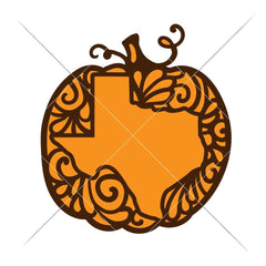 Pumpkin Texas Svg Png Dxf Eps Svg Dxf Png Cutting File