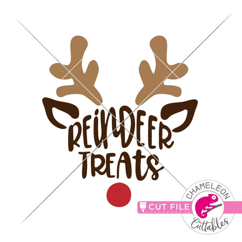 Reindeer Treats svg png dxf eps SVG DXF PNG Cutting File
