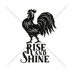 Rise And Shine Vertical Svg Png Dxf Eps Svg Dxf Png Cutting File