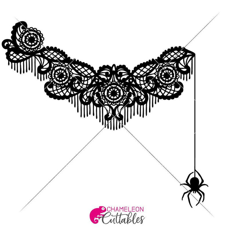 Spider Lace Unfinished For Shirt Svg Png Dxf Eps Svg Dxf Png Cutting File