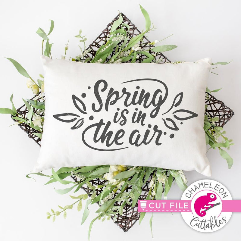 Spring Is In The Air Svg Png Dxf Eps Svg Dxf Png Cutting File