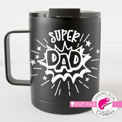 Super Dad svg png dxf eps SVG DXF PNG Cutting File