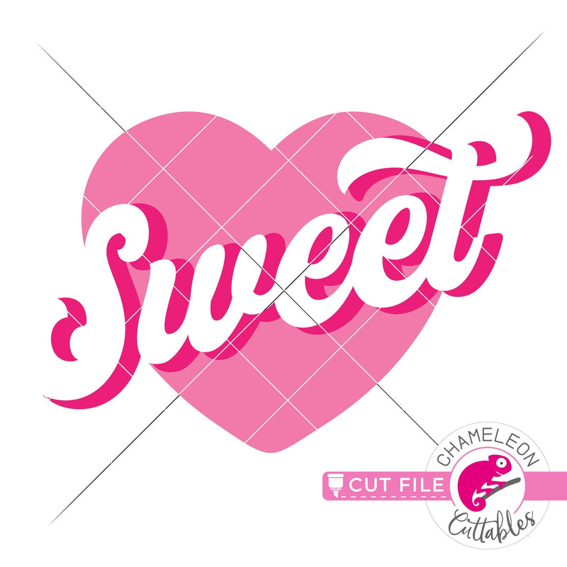 Sweetheart svg png dxf eps jpeg SVG DXF PNG Cutting File