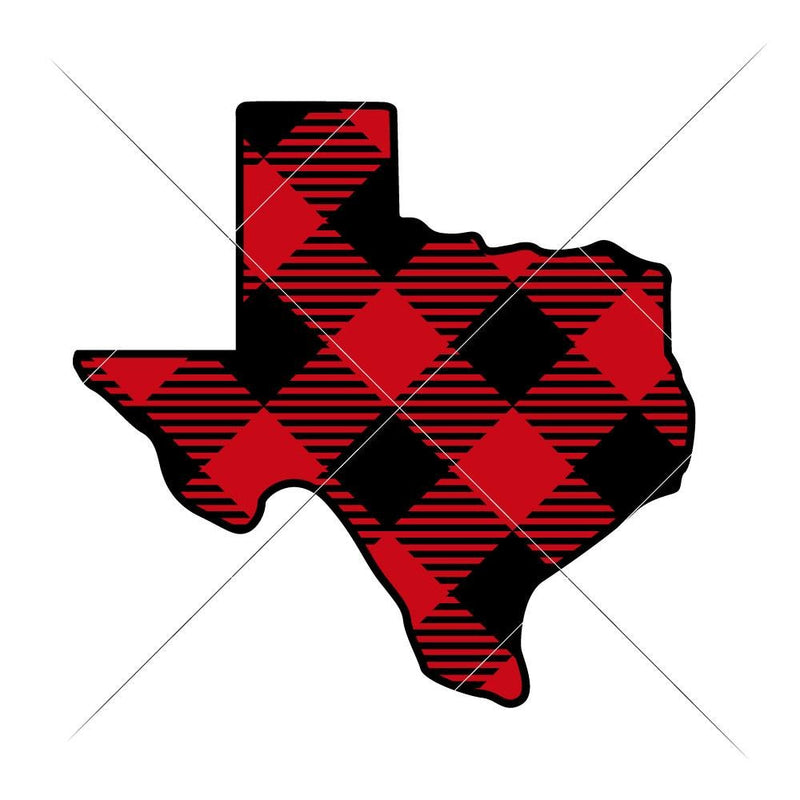 Texas Plaid Layered Svg Png Dxf Eps Svg Dxf Png Cutting File