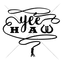 Yeehaw Svg Png Dxf Eps Svg Dxf Png Cutting File