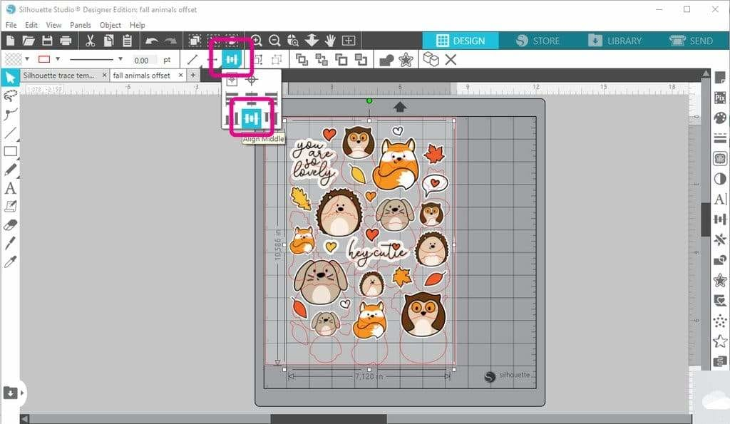 Create stickers with your Silhouette Cameo