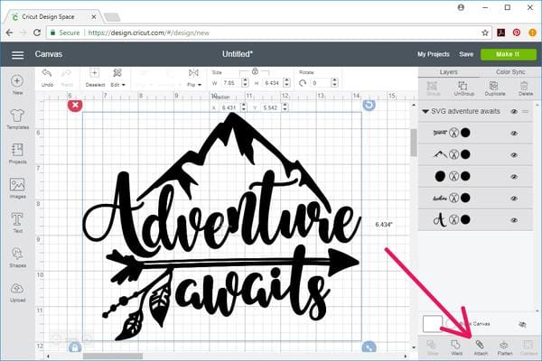 How to open and cut SVG files with Cricut Design Space