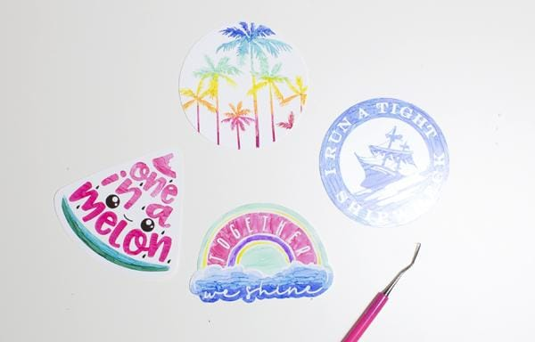Shrinky Dinks Pin Tutorial