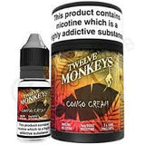Twelve Monkeys Congo Custard Premium Vape Juice
