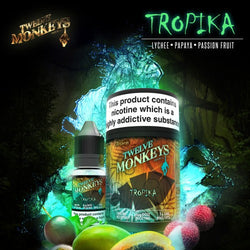 12 monkeys Tropika for vapour cigarette