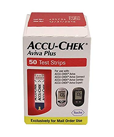 ACCU-CHEK Aviva Plus 50 Mail Order Test Strips