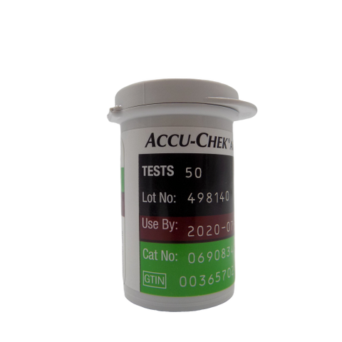 ACCU-CHEK Aviva Plus 50 count  VIAL ONLY