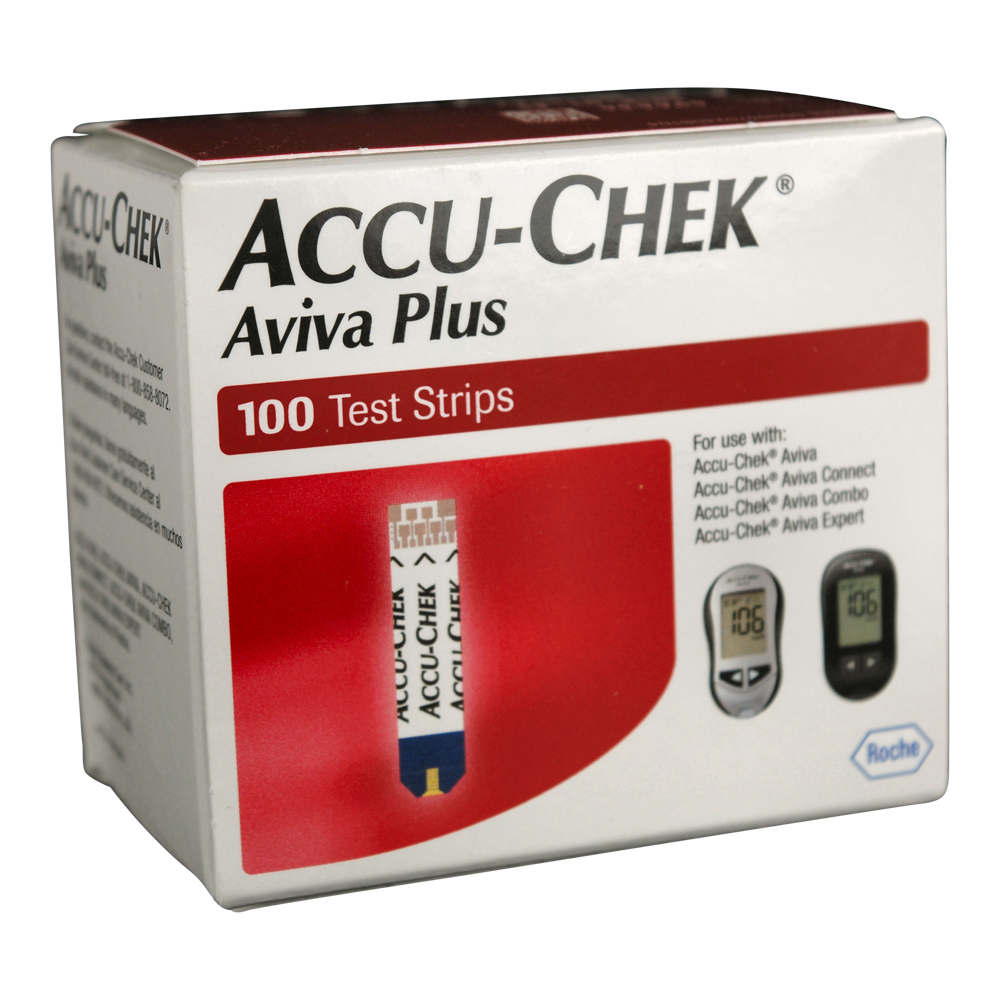 ACCU-CHEK Aviva Plus 100 Test Strips