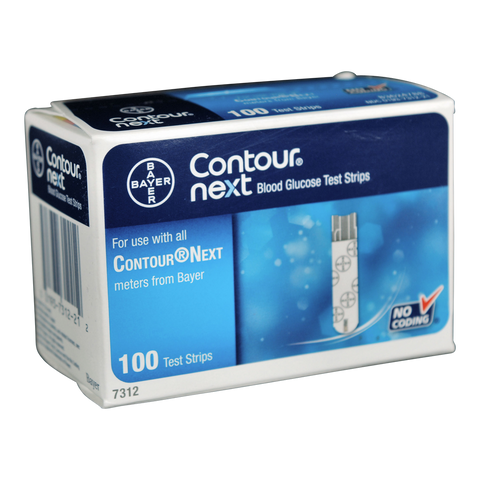 Bayer Contour Next 100 Test Strips