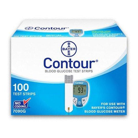 Bayer Contour 100 Test Strips
