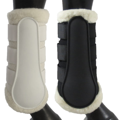 Breathable Wool Dressage Boots