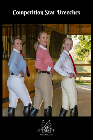PW Ladies Star Competition Breeches