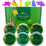 Dinosaur Surprise Bubble Bath Bomb 6-pack Set