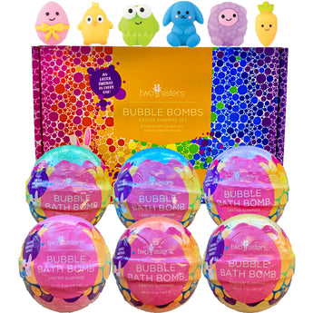 6 Easter Surprise Bubble Bath Bombs