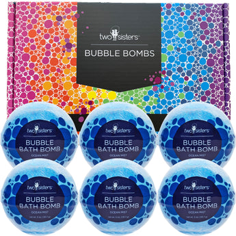 6-pack Ocean Mist Bubble Bath Bomb Set