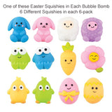 6 Easter Surprise Bubble Bath Bombs - Two Sisters Spa
