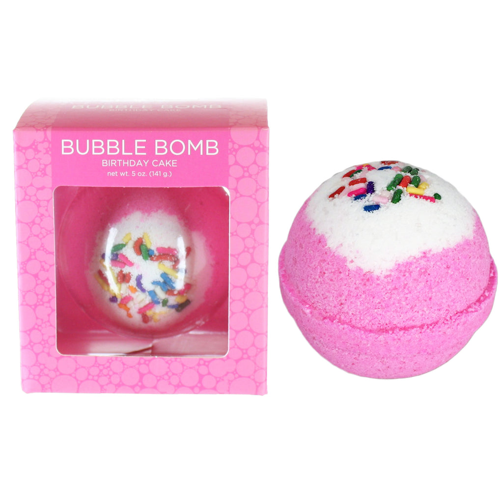 Birthday Cake Bubble Bath Bomb Two Sisters Spa