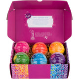 6-pack Kids Bubble Bath Bomb Set with Toy Surprises for Girls