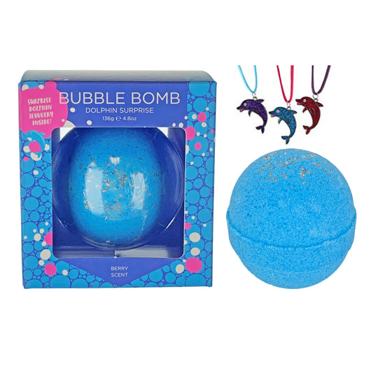 Dolphin Surprise Bubble Bath Bomb - Two Sisters Spa