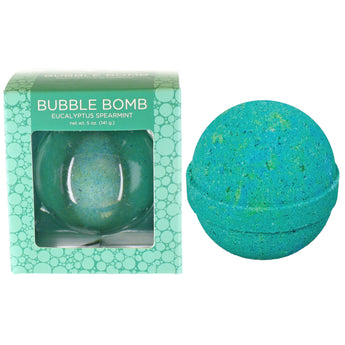 Eucalyptus Spearmint Bubble Bath Bomb - Two Sisters Spa