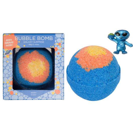 Galaxy (Alien) Surprise Bubble Bath Bomb - Two Sisters Spa
