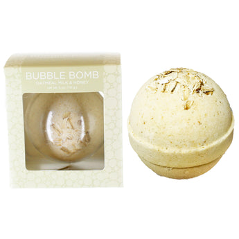 Oatmeal Milk & Honey Bubble Bath Bomb - Two Sisters Spa