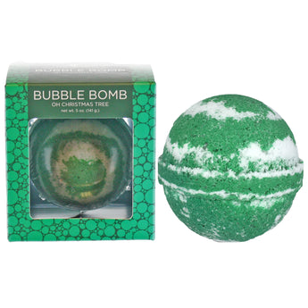 Oh Christmas Tree Bubble Bath Bomb - Two Sisters Spa