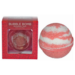 Peppermint Twist Bubble Bath Bomb