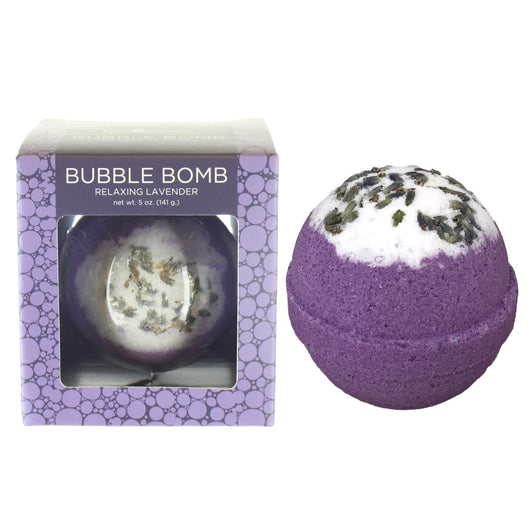 Relaxing Lavender Bubble Bath Bomb - Two Sisters Spa