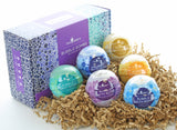 6-pack Relaxing Bubble Bath Bomb Gift Set