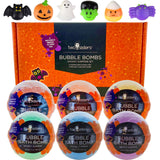 6 Spooky Surprise Halloween Bubble Bath Bombs Set