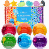 Squishy Toy Surprise Bubble Bath Bomb 6-pack Set - Two Sisters Spa