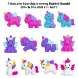 Unicorn Squishy Surprise Bubble Bath Bomb - Two Sisters Spa