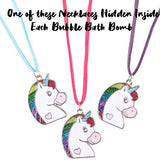 Unicorn Surprise Bubble Bath Bomb - Two Sisters Spa