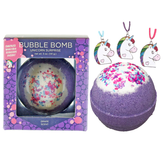 Unicorn Surprise Bubble Bath Bomb