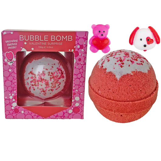Valentine Surprise Bubble Bath Bomb - Two Sisters Spa