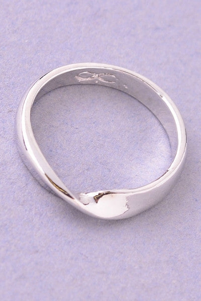 Child Infinity Ring - Brass Pocket Boutique