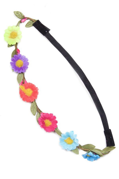 Flower Headbands - Brass Pocket Boutique