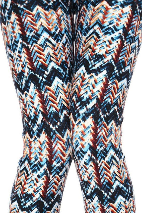 Turquoise Tribal Print - Brass Pocket Boutique