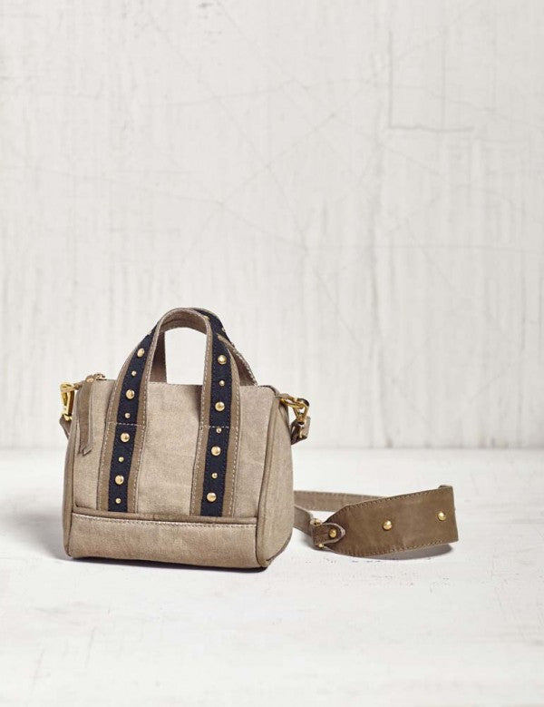 LUCCA MINI CANVAS CROSSBODY - Brass Pocket Boutique
