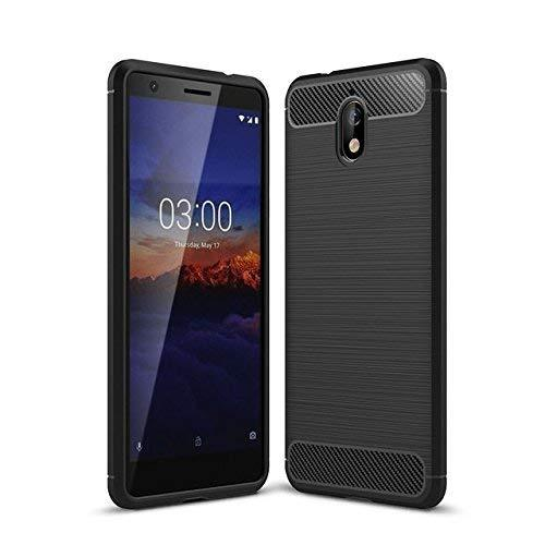 Nokia 3.1 Case Carbon Fibre Black - That Gadget UK